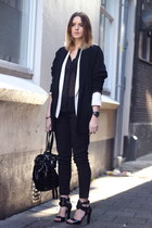 Alexander Wang bag - By Malene Birger blazer - Alexander Wang heels