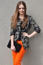 Carrot-orange-zara-pants