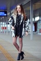 black lanvin dress