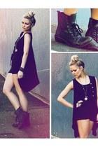 black black boots Roc boots