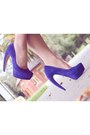 Blue-platform-heels-tony-bianco-heels-ivory-blazer-dotti-blazer