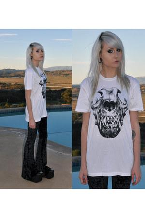 pants - substitute shoes - Kr3w t-shirt