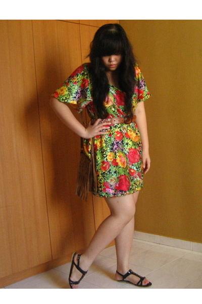purse - covet shoes - Made dress