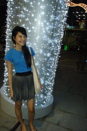 cotton on skirt - Forever 21 necklace