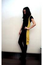 Forever21 vest - agentninetynine top - Dotti jeans - Zara shoes