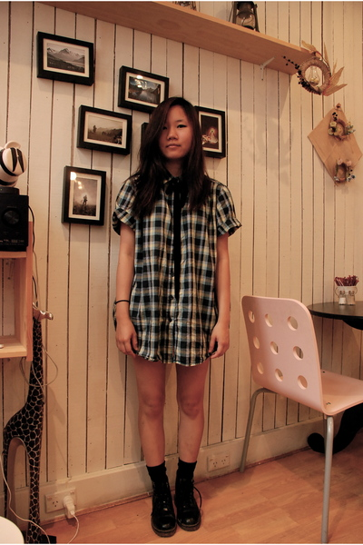 Cheap Monday shirt - Docs shoes - shorts - socks