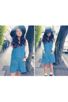 Primark shoes - Primark dress - H&M hat - Topshop socks - H&M blouse