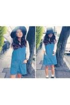 Primark shoes - Primark dress - H&M hat - Topshop socks - H&M blouse