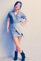 Choies skirt - H&M t-shirt