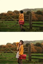 romwe bag - Topshop skirt