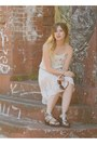 White-topshop-skirt-off-white-new-look-top-gray-primark-sandals