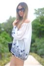 Espacio-de-creadores-la-roca-village-blouse-queens-wardrobe-shorts