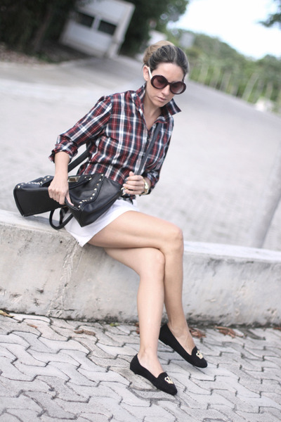 tailor4less shirt - Romwecom sunglasses - Melissa loafers