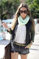 neverfull Louis Vuitton bag - Sheinside jacket