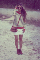 navy Sheinside sweater