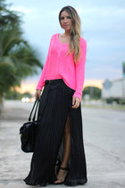 pleated Choies skirt