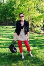 Burberry sunglasses - Juicy Couture purse - Ralph Lauren pants
