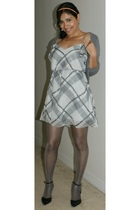 BCBG dress - H&M sweater - Aldo shoes
