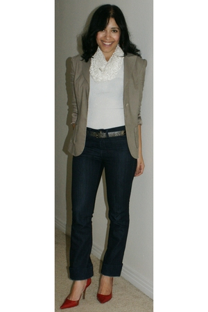 Marciano blazer - Buffalo jeans - Guess shoes