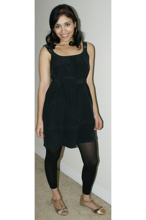 dress - Express leggings - Miss Sixty shoes