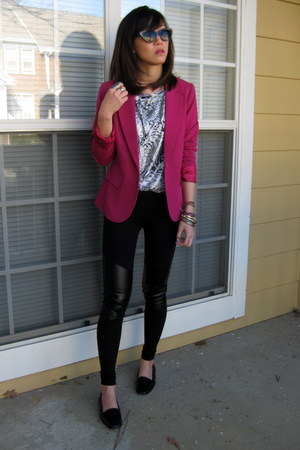 tailored leggings - free people shoes - asfdsd sunglasses