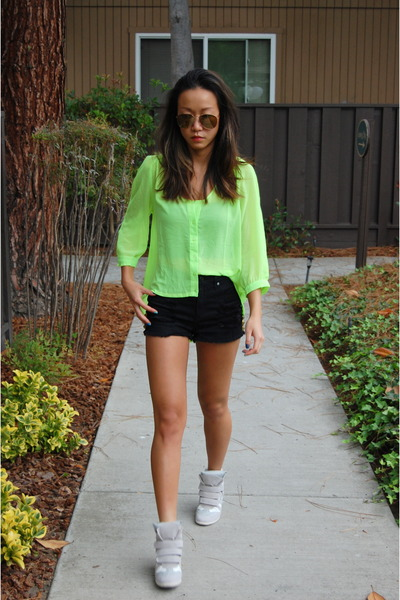 Isabel Marant shoes - D&G sunglasses