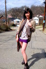 Frye-boots-vintage-shirt-forever21-top-american-apparel-skirt-h-m-cardig