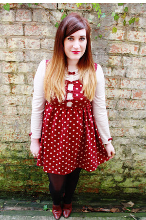 bows and spots hypnoticdolly dress