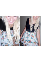 American Apparel intimate - Valley Girl skirt - Kmart necklace