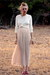 silk lace Oscar de la Renta skirt