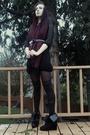Black-house-of-vintage-dress-black-urbanxchange-belt-black-tights-walmart