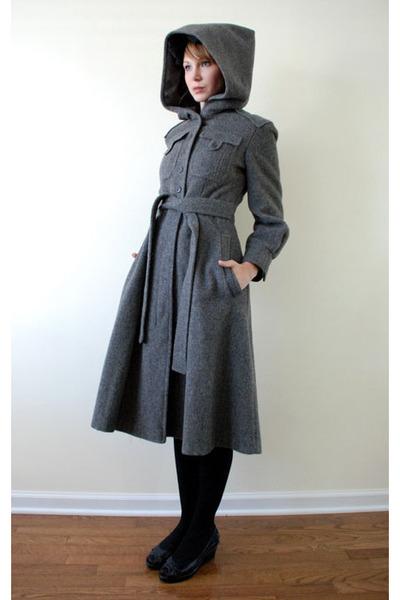 Gray Mousevox Vintage Coats Quot Vintage 60 S Mod Wool