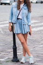 Sky-blue-dorothy-perkins-jacket-black-choies-bag-sky-blue-blackfive-shorts