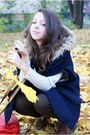Gold-romwe-ring-brown-czas-na-buty-boots-navy-vj-style-coat