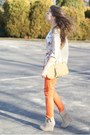 Beige-oh-my-frock-shirt-tan-oasap-bag-orange-romwe-pants
