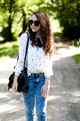 Black-persunmall-shoes-white-vj-style-shirt-black-romwe-bag