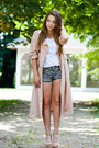 Camel-lovelywholesale-shoes-light-pink-front-row-shop-coat