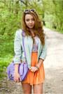 Violet-oasap-blouse-camel-czasnabuty-shoes-light-blue-sinsay-jacket