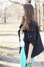 Black-prada-bag-black-papilion-wedges-aquamarine-vero-moda-pants