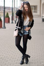 Black-papilion-boots-black-light-in-the-box-jacket-white-lalalilo-shirt