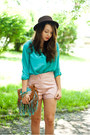 Brown-czasnabuty-shoes-dark-brown-oasap-hat-brown-sheinside-bag