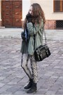 Black-czasnabuty-boots-army-green-romwe-jacket-beige-stradivarius-leggings