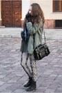 Black-czasnabuty-boots-army-green-romwe-jacket-beige-stradivarius-leggings