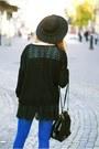 Black-czas-na-buty-boots-black-oasap-hat-black-sheinside-sweater