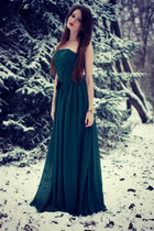forest green Edressy dress