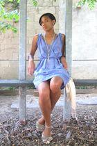 H&M dress - Steve Madden shoes - - silver necklace