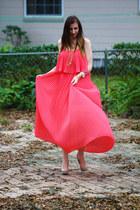 Forever21 dress - Forever21 bracelet - Target watch - Ebay heels