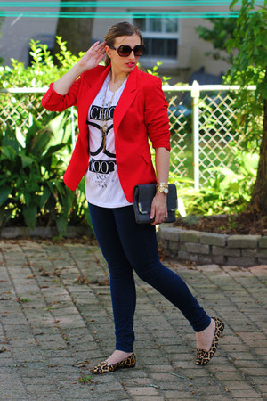 Forever21 shirt - DSW bag - tory burch sunglasses - Michael Kors loafers