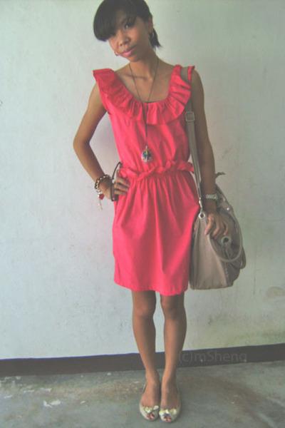 Pink Gold Homecoming Dresses Off-the-Shoulder Short ...  Pink Gold Dress