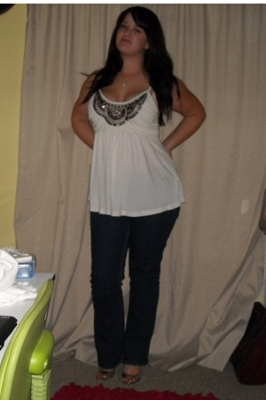 forever 21 top - Levis jeans